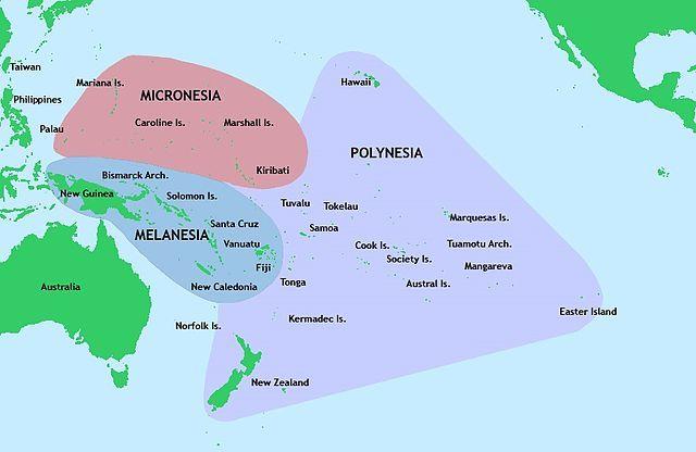 ポリネシア地方